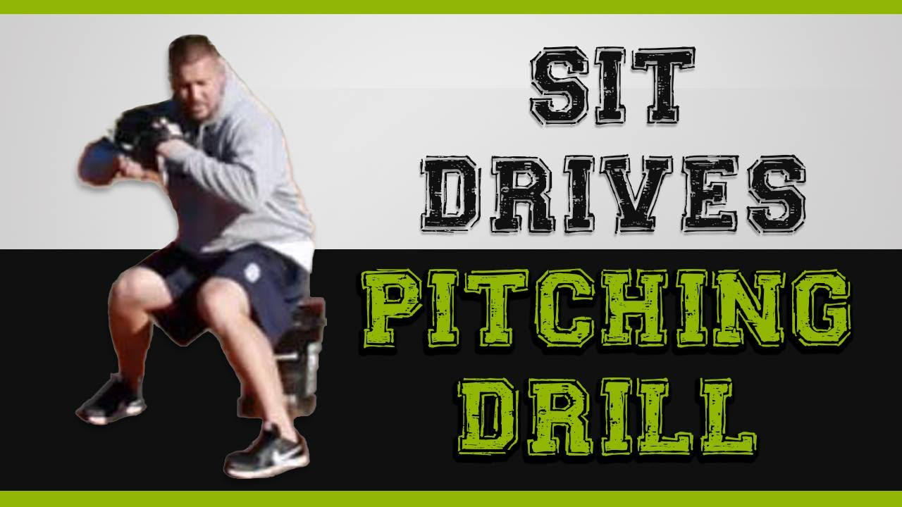 Increase Your Velocity With This Baseball Pitching Drill Sit Drives Pitching Drills Baseball Pitching Drills Baseball Workouts