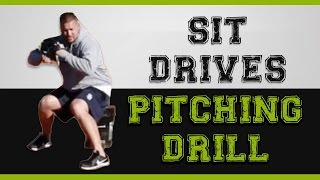 increase your velocity with this baseball pitching drill sit drives