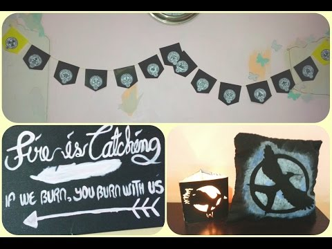DIY: HUNGER GAMES INSPIRED ROOM DECOR | alphabetstory