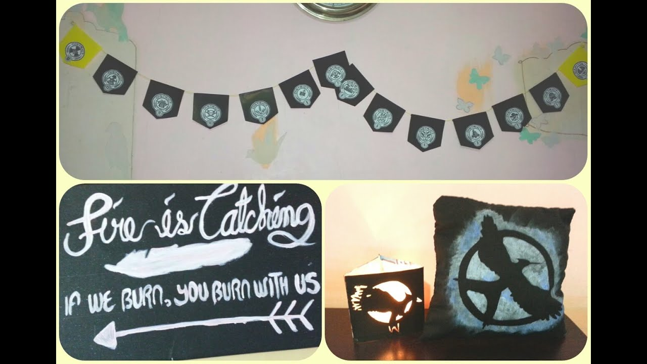 Diy hunger games inspired room decor alphabetstory for All room decoration games