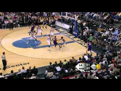 02 03 2008   lakers vs  wizards   kobe highlights 60 fps