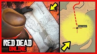 Red Dead Online: БЕСКОНЕЧНЫЕ КАРТЫ СОКРОВИЩ / Где Найти & Как Получить / RDR Online