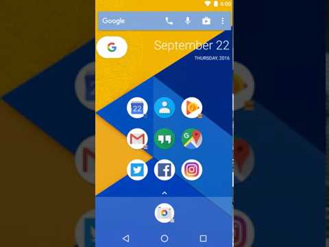 Pixel Launcher style icons in Action Launcher