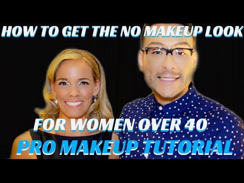 Makeup & Hair Tips and Tricks for Women over 40 Special Event Step by Step Tutorial- mathias4makeup
