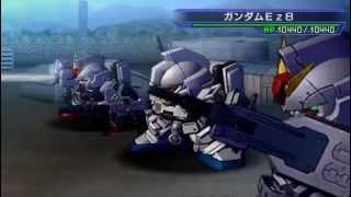 SD Gundam G Generation Overworld UC Combination Attack Part 1/2