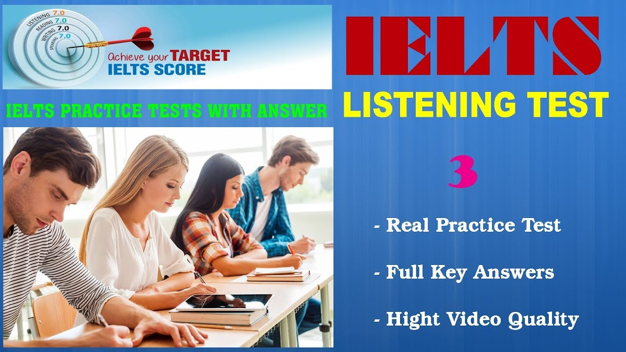 IELTS Listening Practice Tests with Answers and PDF File – Test 03