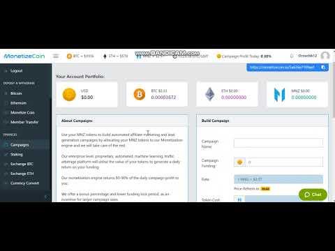Monetize Coin The new stable lending platform!