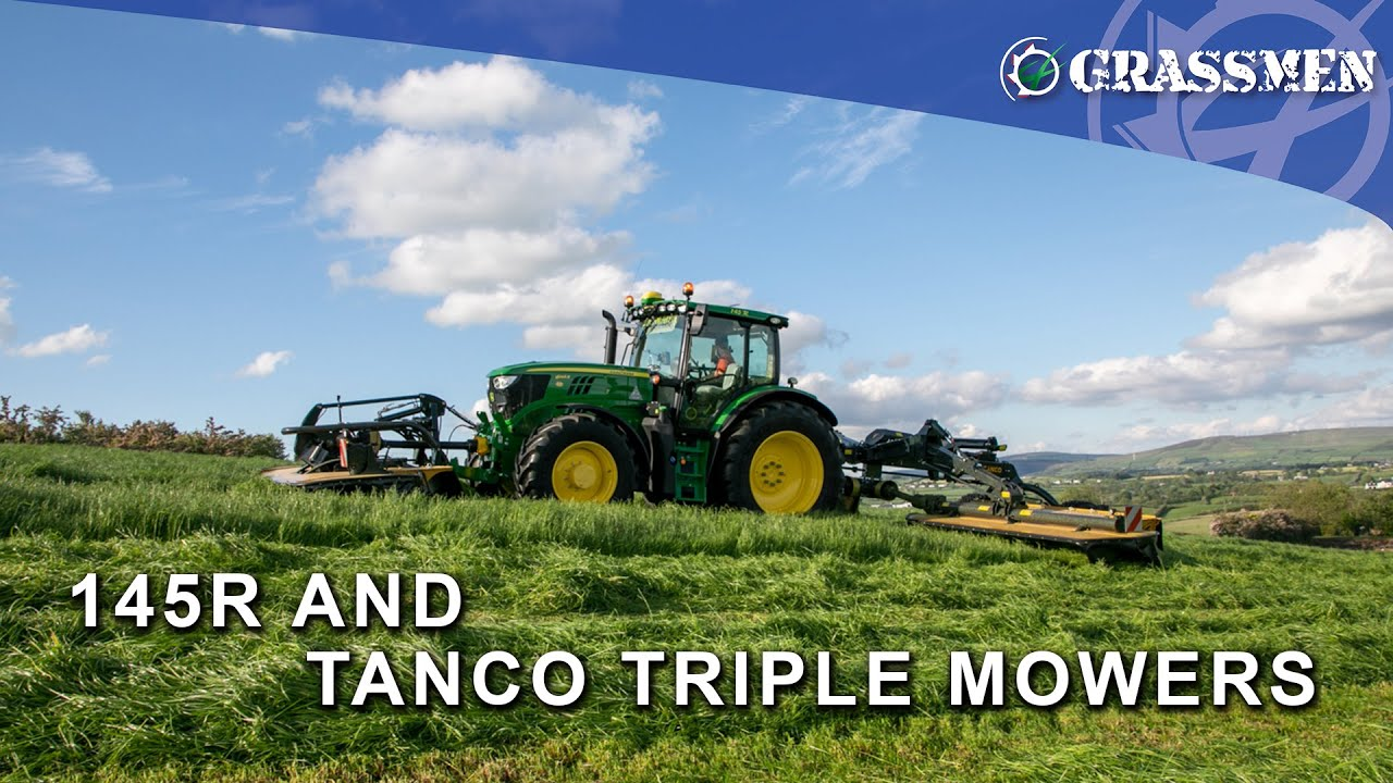 DJ McKay and Son Demo the Tanco Triples with Their John Deere 6145R - DONEKYCAM VLOG