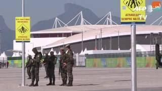بالفيديو.. تدابير أمنية مشددة لتأمين أولمبياد ريو