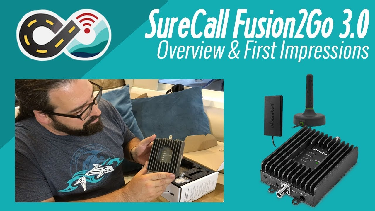 SureCall Fusion2Go 3 0 RV Cellular Booster - weBoost Drive 4G-X Rival?