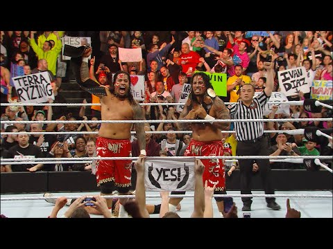All five of The Usos' championship victories