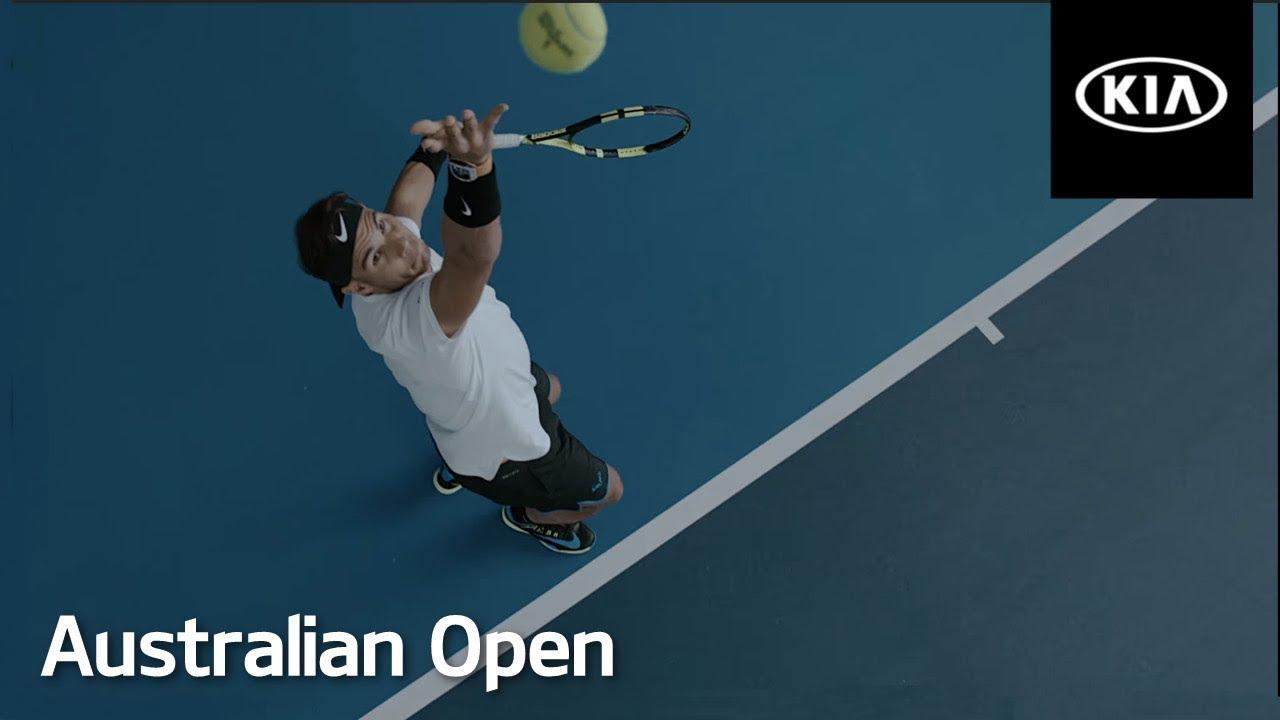 Rafael Nadal And Kia At The Australian Open 2017 Kia Australia Youtube