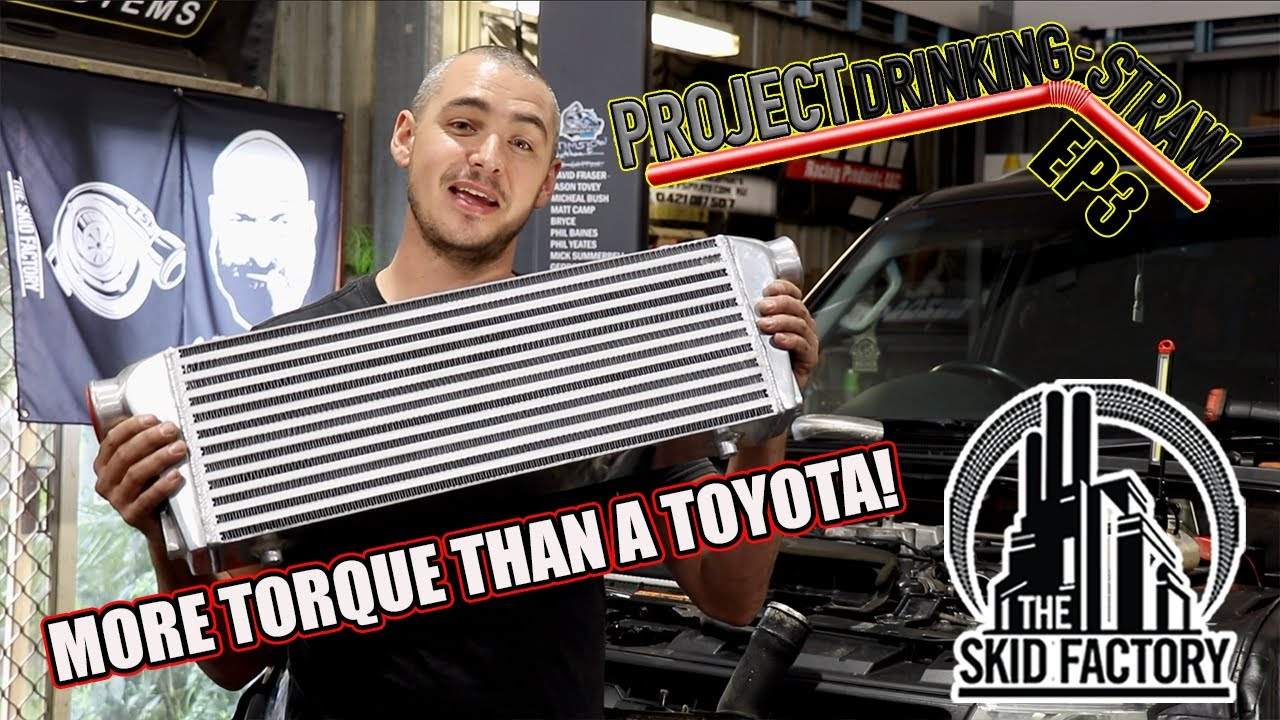 Fixing the Pajero's Achilles Heel - Intercooler Upgrade & Dyno Tune - Project Drinking Straw EP3