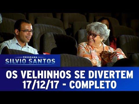 Os Velhinhos se Divertem  | Câmeras Escondidas (17/12/17)