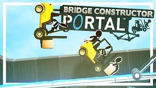 You've never seen bridges built as great as these - Portal Bridge