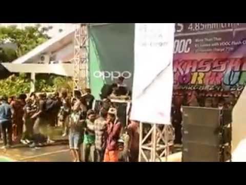 Makassar Color Run 2015 with Dj. Vicky nitinegoro