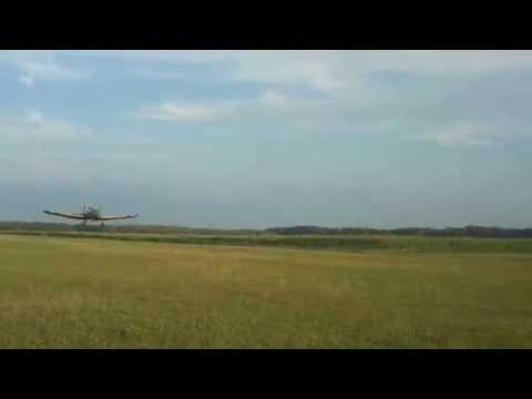PZL M18 DROMADER TAKE-OFF