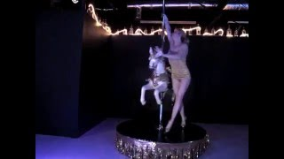 Showgirl On A Carousel Horse - Mezmerizing Pole Dance Alethea Austin