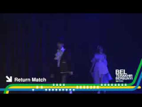 JKT48_KIII_TERBARU_THEATER_-_Return Match{Kinal,Rona}