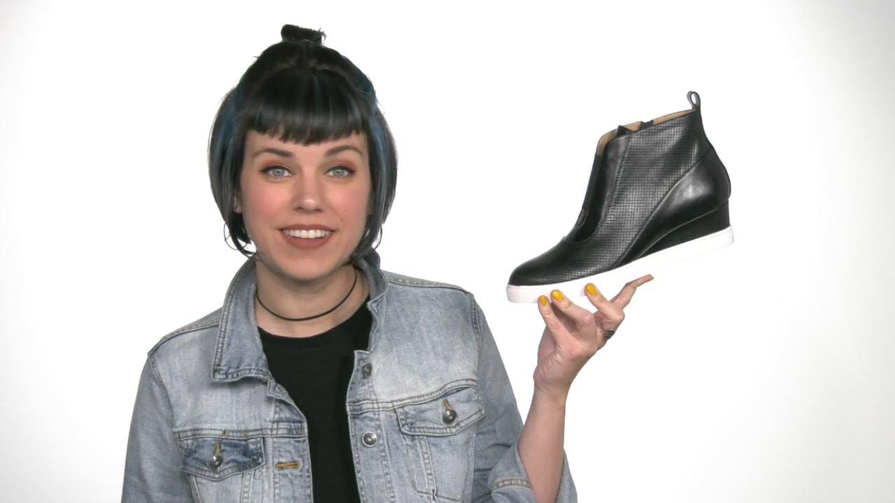 LINEA Paolo Anna Wedge Sneaker | Zappos.com
