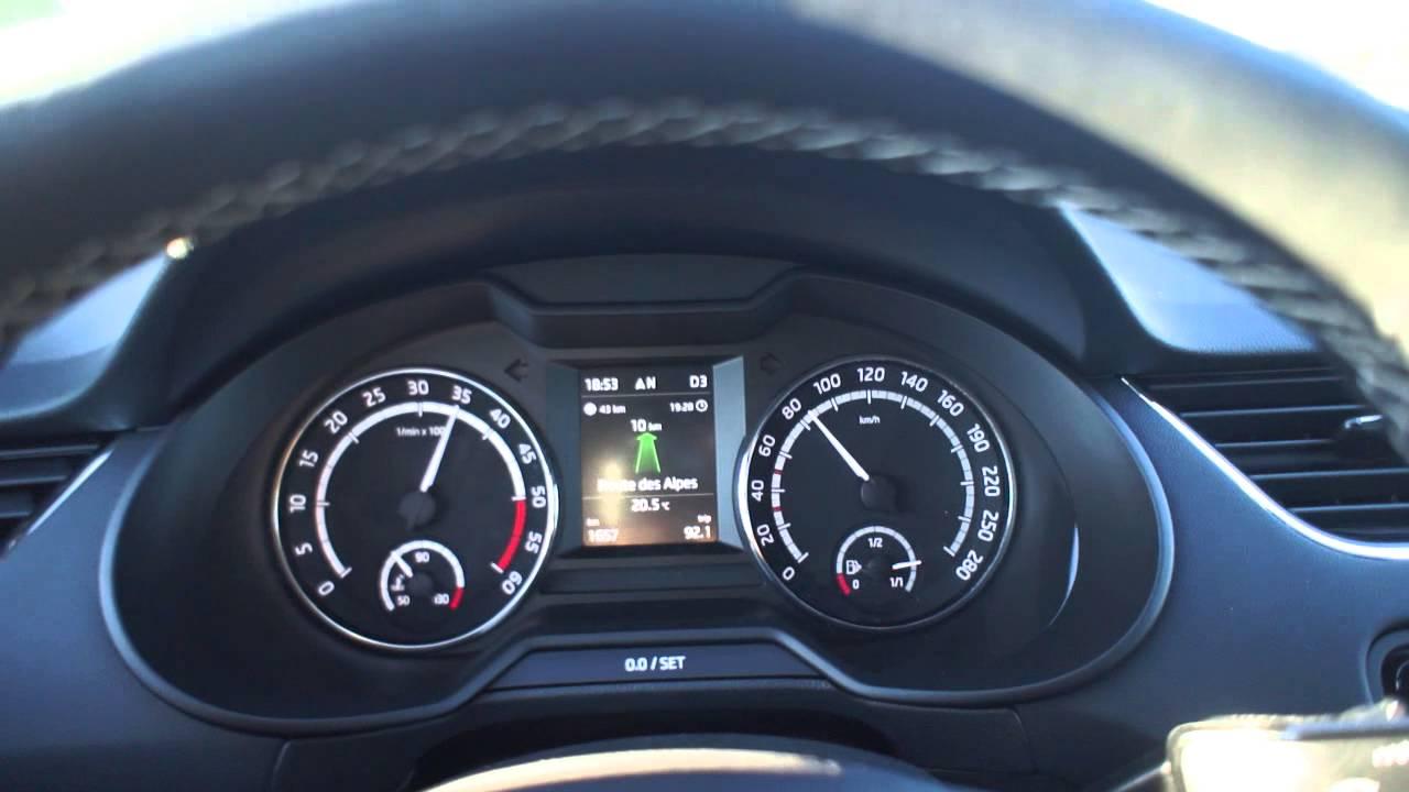 New Skoda Octavia Rs 2013 Combi Tdi 184 Dsg 0 A 150 Km H