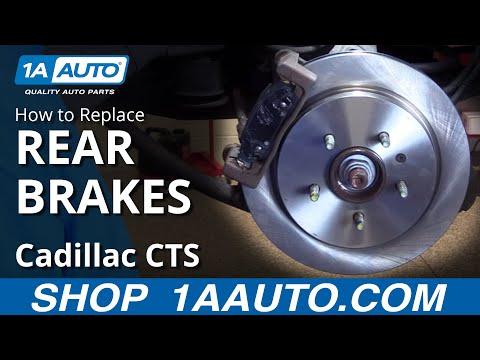 Cadillac CTS CTS-V 03-07 Emergency//Parking Brake Shoes