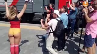 Екатеринбург встречает мексиканцев и шведов