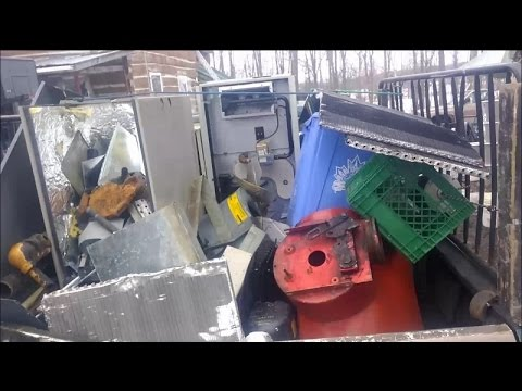 Scrap Metal Haul, Parting Out HVAC Equipment, & Ebay Sales Review