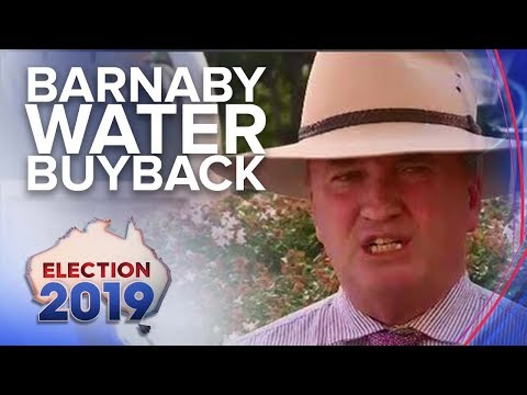 Former Deputy PM embroiled in $80 million water buyback deal | Nine News Australia