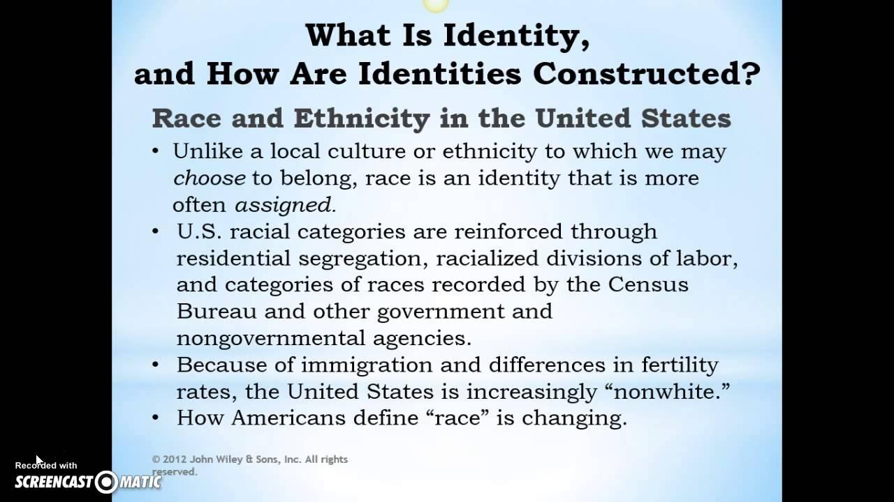 Identity is ... Identity
