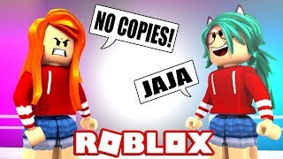 TROLEO COPYING CLOTHES in FASHION FAMOUS by ROBLOX 😱