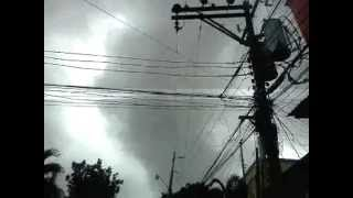 Tornado Sighting in Bacolod City, Negros Occidental - Part 1