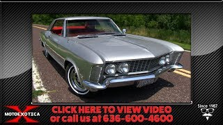 1963 Buick Riviera || For Sale