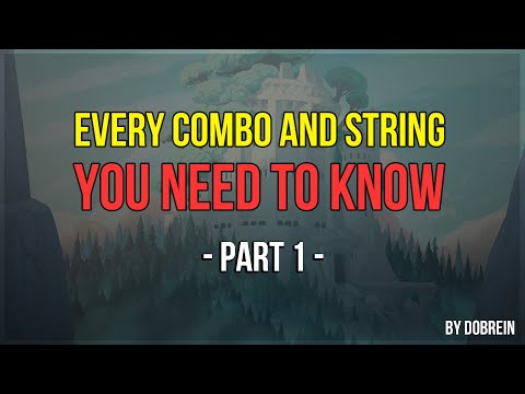 Brawlhalla - Every Combo And String You Need To Know - Part 1 (new Video In Description)