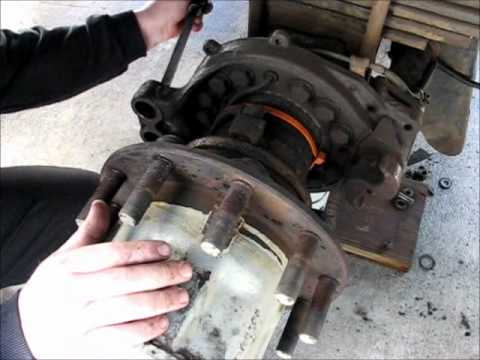 Hd Brakes Gmc 7000 Truck Video Youtube