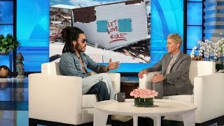Lenny Kravitz Is Devoted to Rebuilding the Bahamas