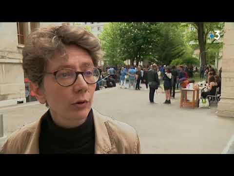 Blocage de Lyon 2 : le reportagede YouTube · Durée:  1 minutes 36 secondes