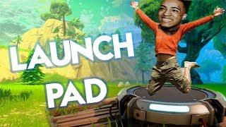 XXXTENTACION - BAD!  (Fortnite Parody)| Launch Pad!