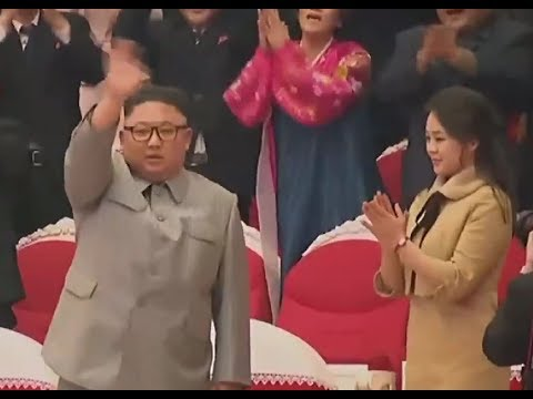 Kim Jong Un And Ri Sol Ju Enjoy Lunar New Year's Day Concert