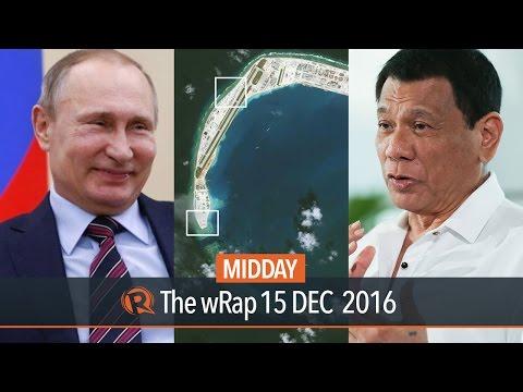 Duterte & Forbes magazine, South China Sea, Putin | Midday wRap