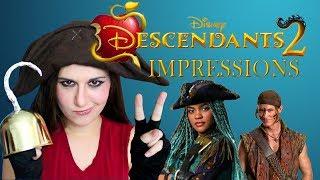 Disney Descendants 2 Impressions - Madi2theMax