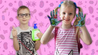 Wash your hands Song and more nursery rhymes and kids songs by Vika Asterisk