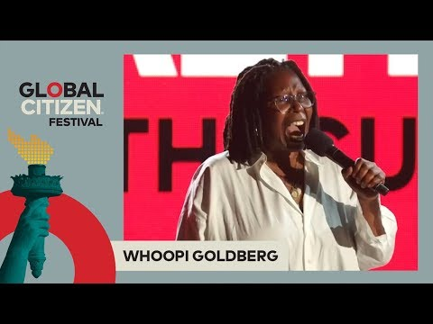Whoopi Goldberg Gives Powerful Speech on HIV/AIDS | Global Citizen Festival NYC 2017