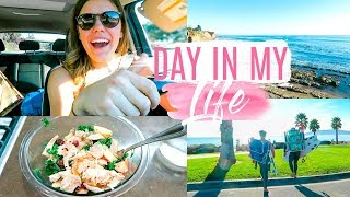 A DAY IN MY LIFE | Workout Chat + Healthy Salad Recipe