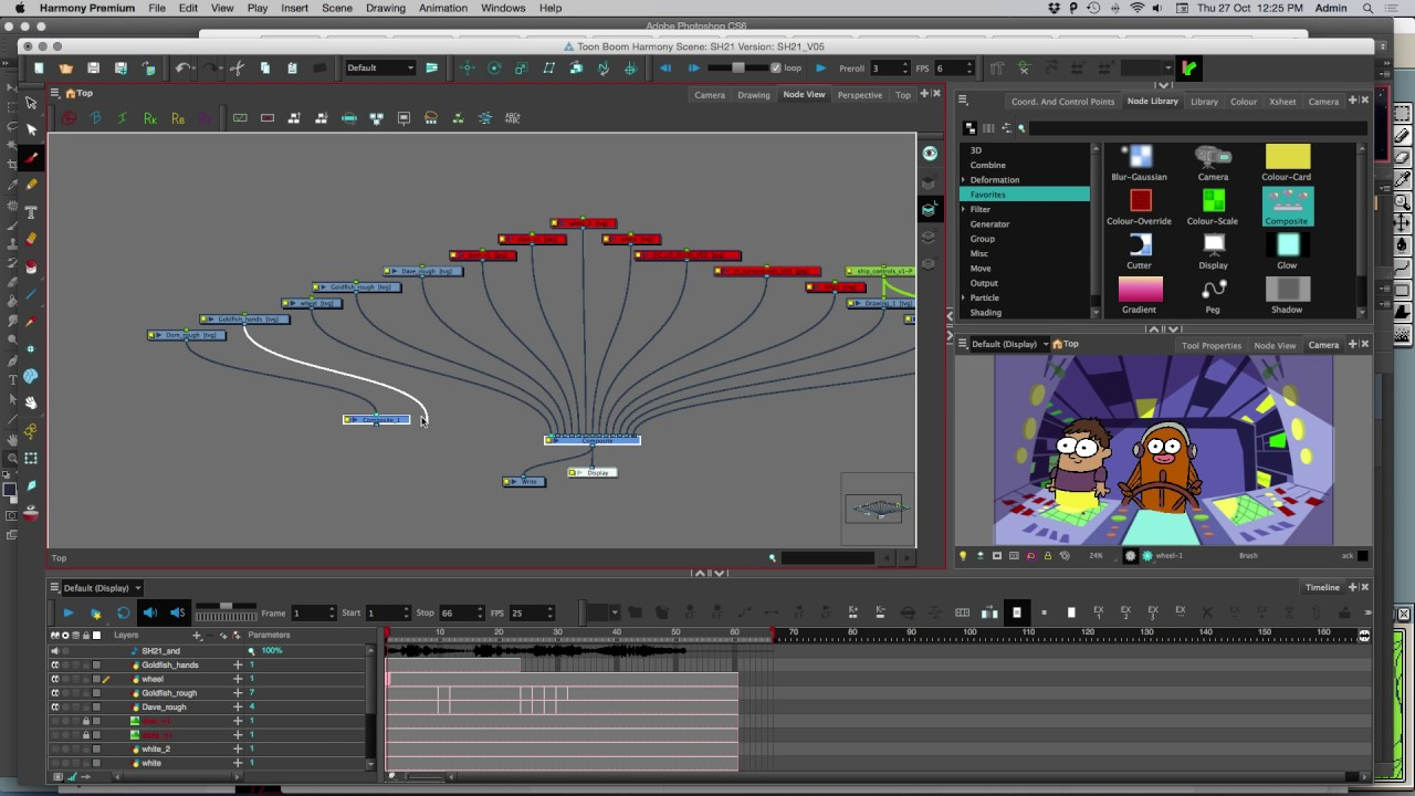 medium resolution of how to mask use cutter node in toon boom harmony premium 14