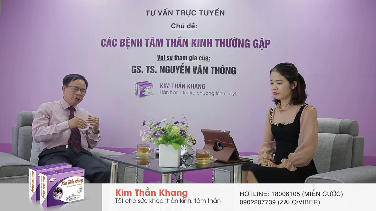 Đầu óc căng thẳng nên làm gì? GS. TS Nguyễn Văn Thông giải đáp
