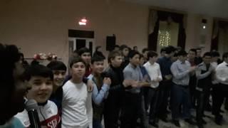 Чеченская песня на Ногайской свадьбе в зале Ахмед