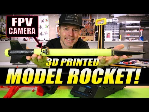 Creality CR-8 Review & 3D PRINTED MODEL ROCKET
