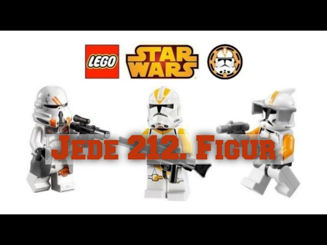 Alle Lego Star Wars 212. Klontrooper Minifiguren [2008-2020]