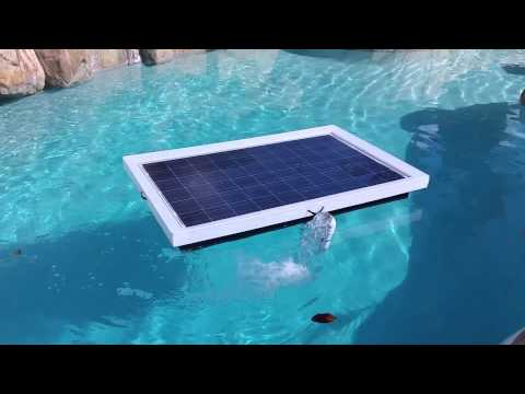 2015 Natural Current Solar Pool Pump Filter System